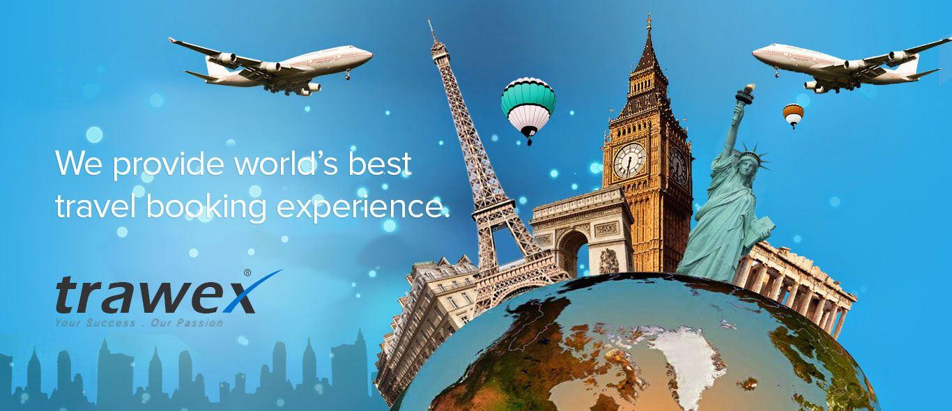 Global travel website with Best Flights Booking deals