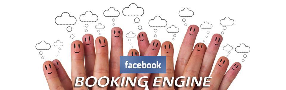facebook booking engine