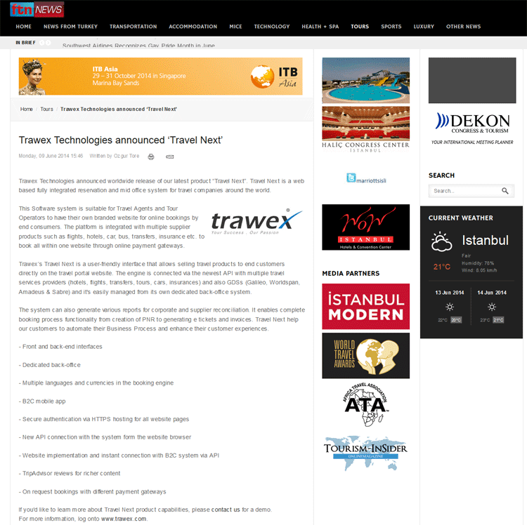 ftnews Press Release