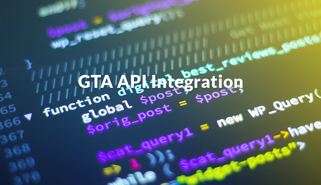 GTA API Integration