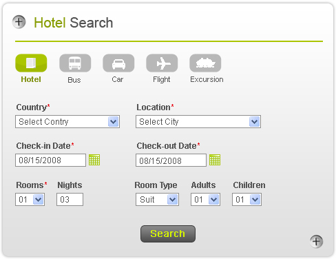 Negotiated Hotel Booking System