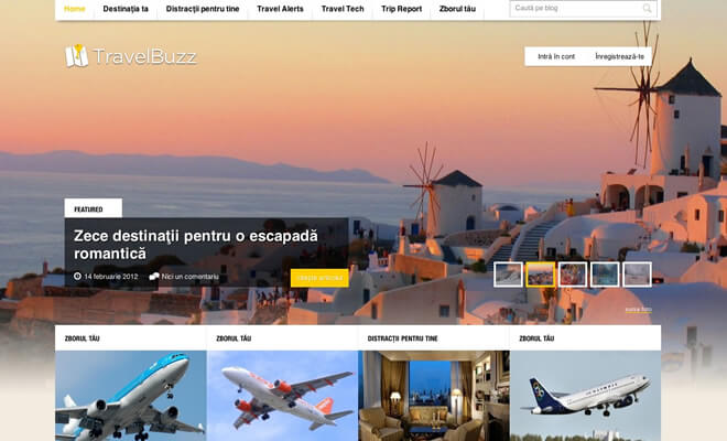 Travel website designing travel management software for Home builder website