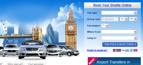 transfer booking engine